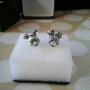 Jewelry - Mickey and Minnie head euro beads